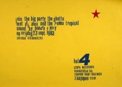 Poster Hal 4 '83